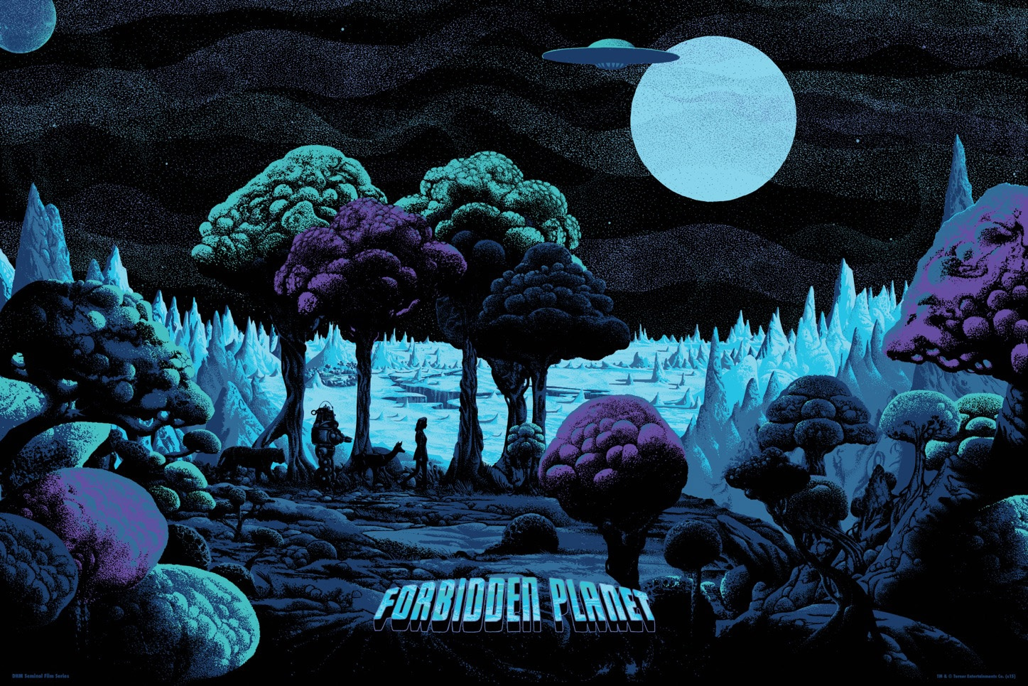 Forbidden Planet Variant Print By Kilian Eng