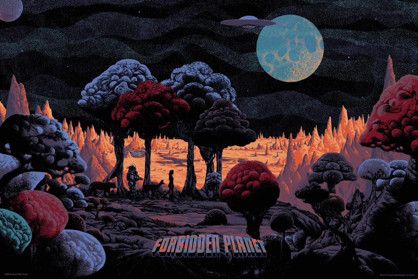 Forbidden Planet Print By Kilian Eng