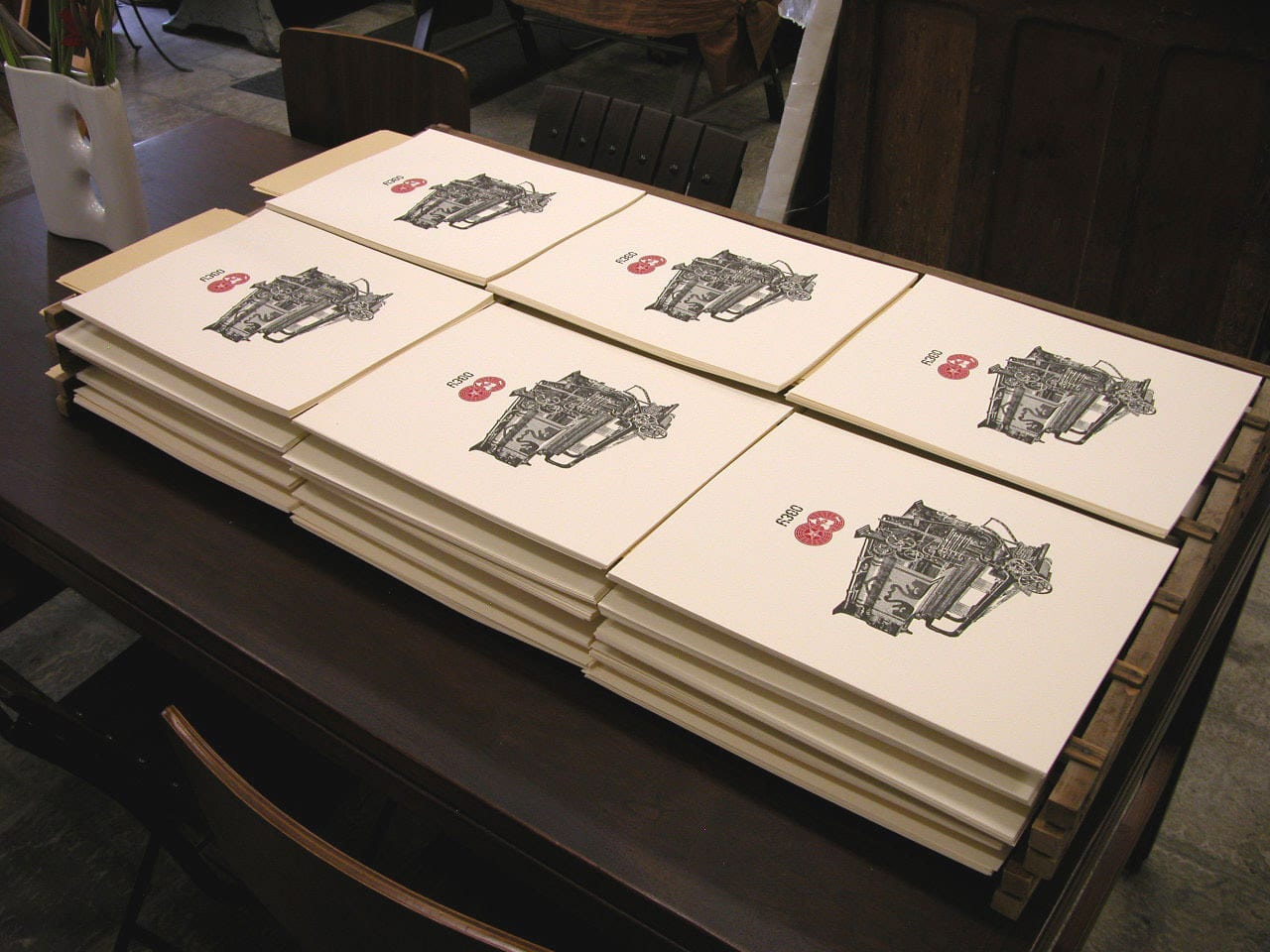 Obey Loom Letterpress Print Detail 2