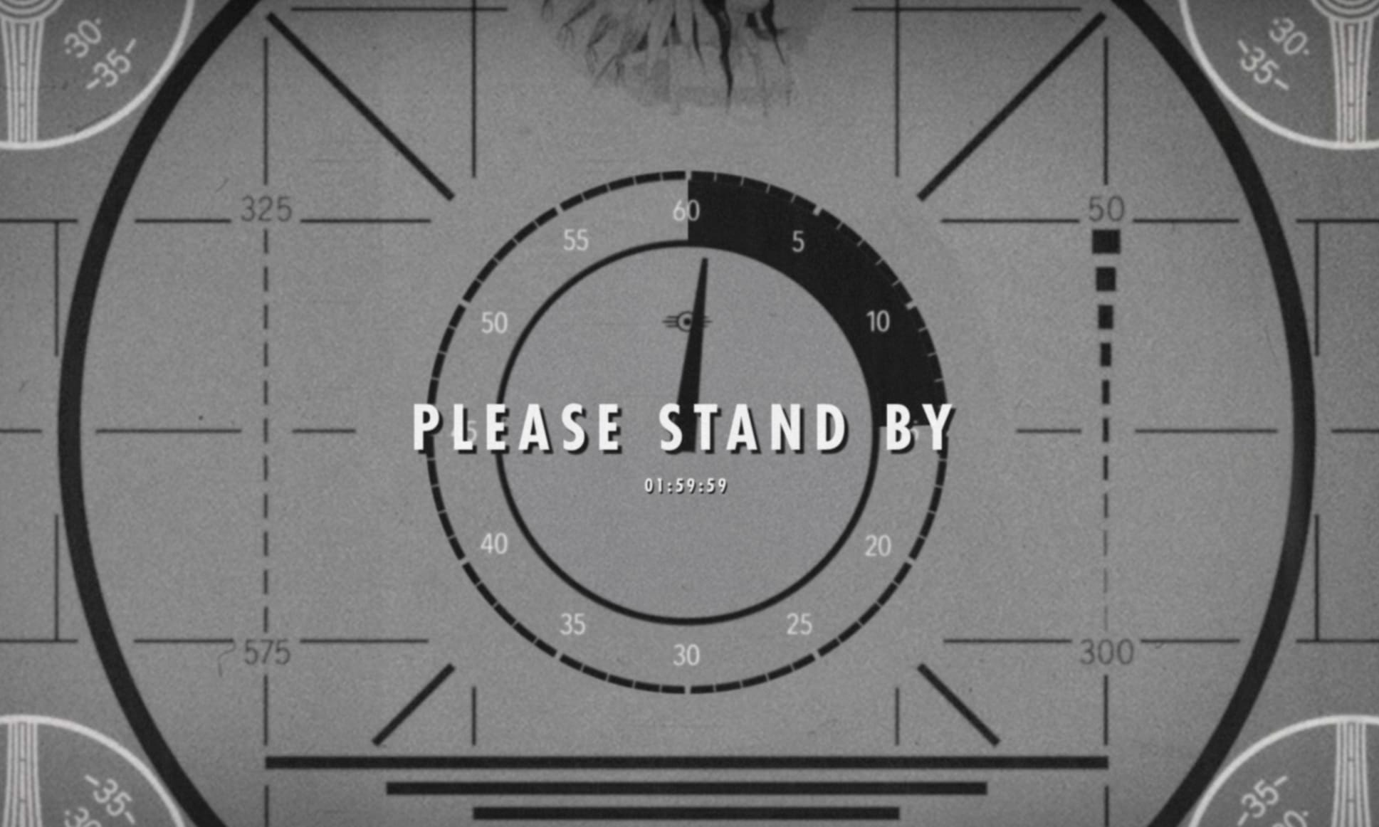 New Fallout Please Stand By Countdown Clock