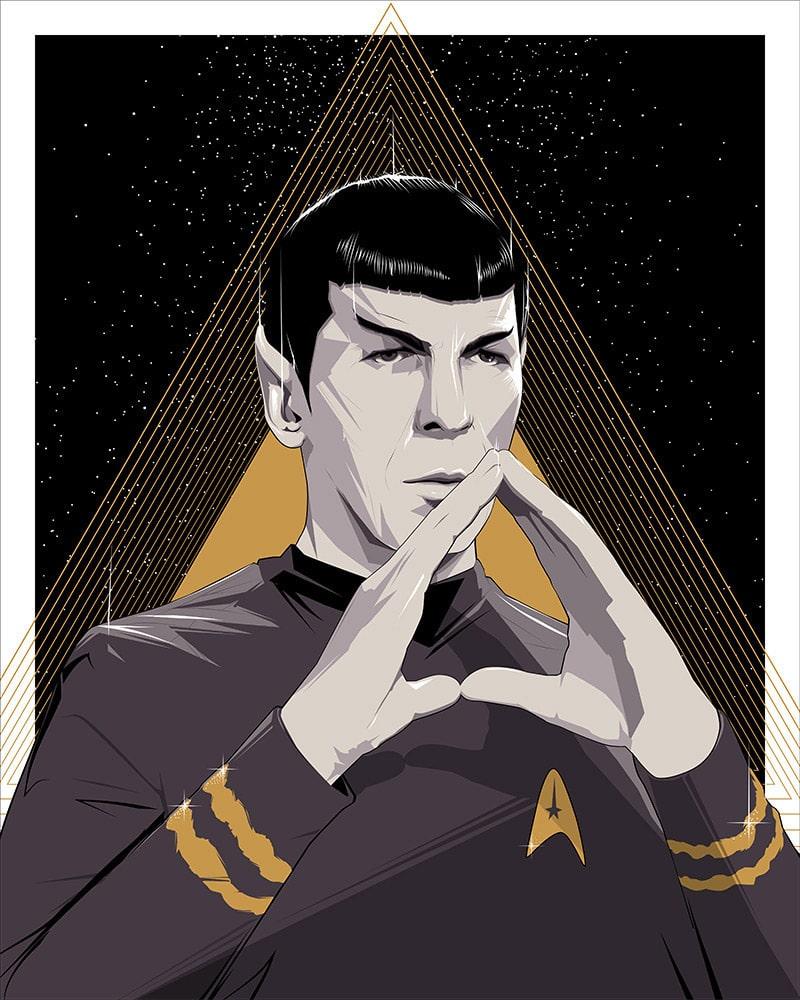 Spock Craig Drake Print