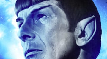 Star Trek Spock Leonard Nimoy Tribute Prints