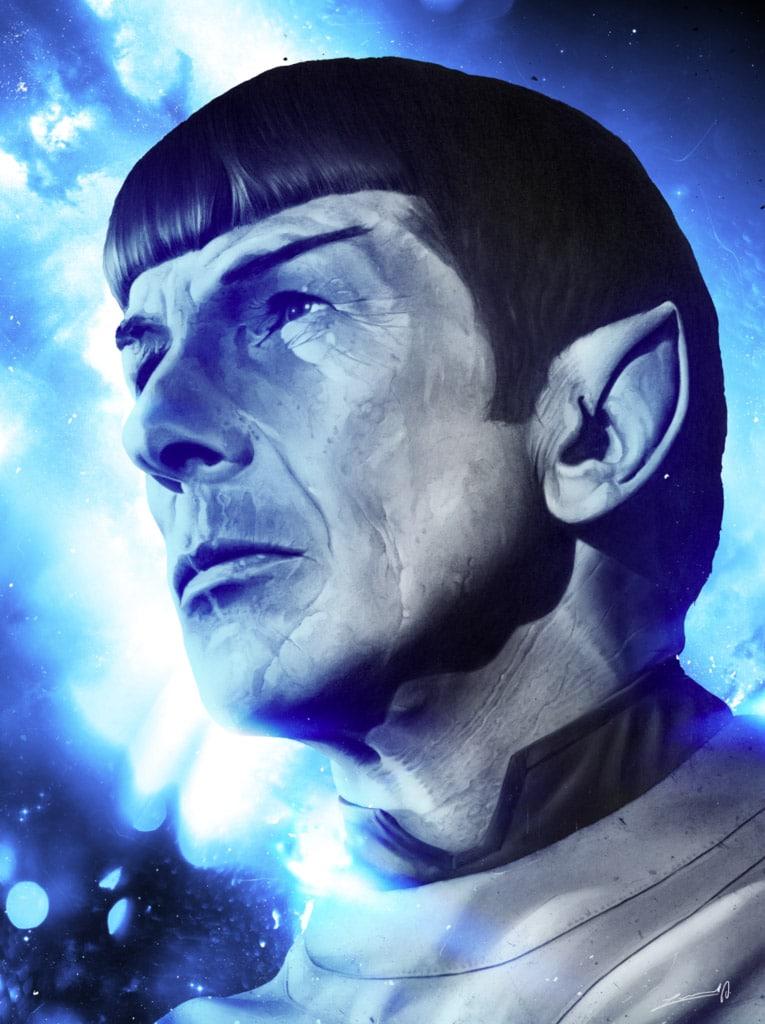Spock Profile Print
