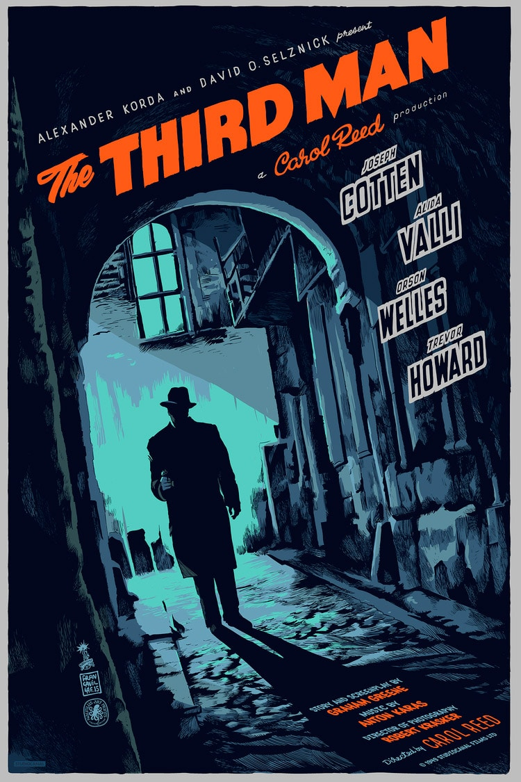 The Third Man Movie Poster Variant