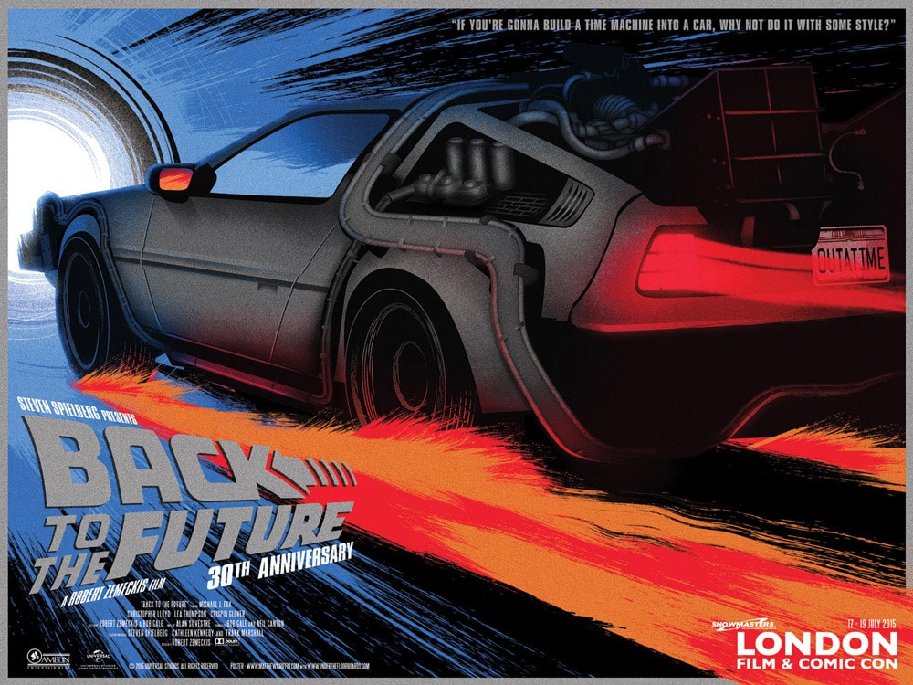 Back to the Future Print by Matthew Griffin