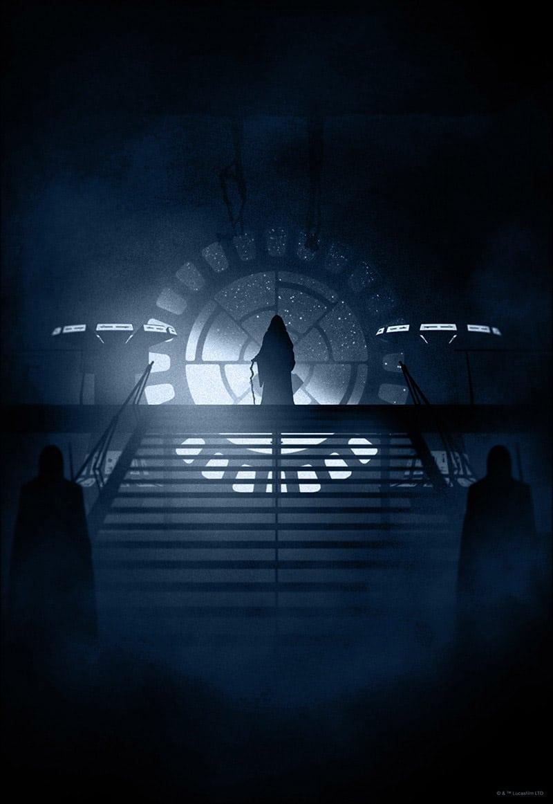 Emperor Star Wars Print