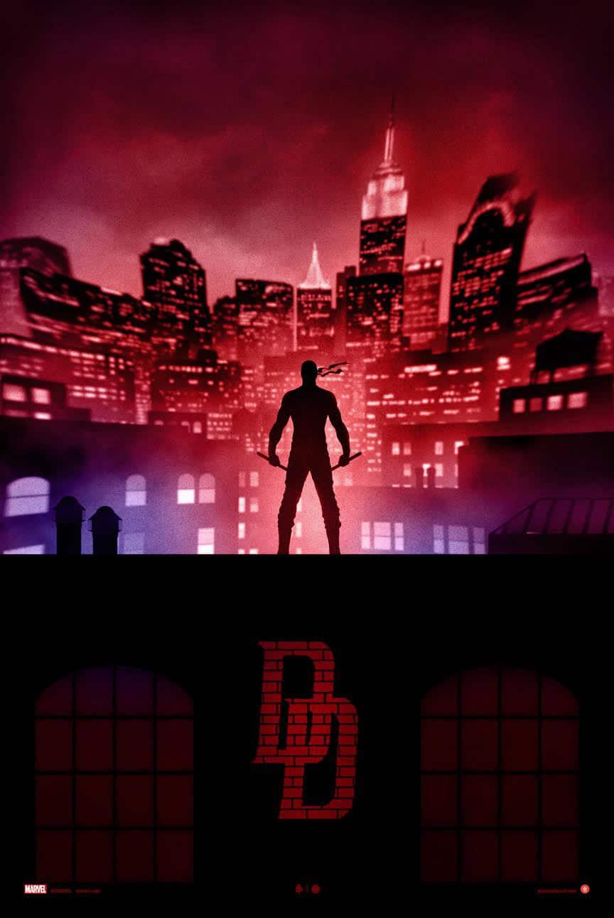 Daredevil Print by Marko Manev