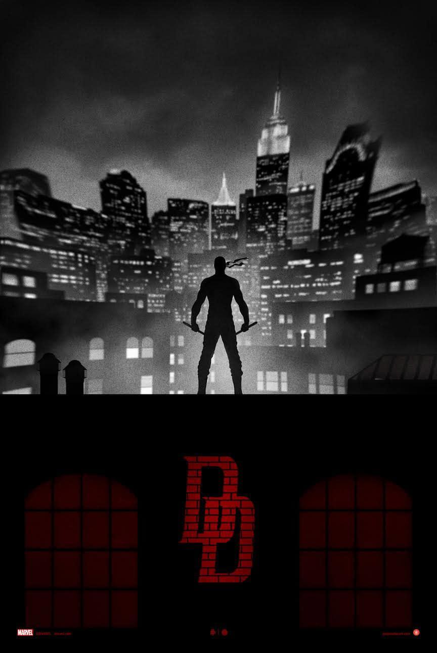 Variant Daredevil Print by Marko Manev