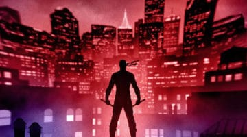 Daredevil Print by Marko Manev