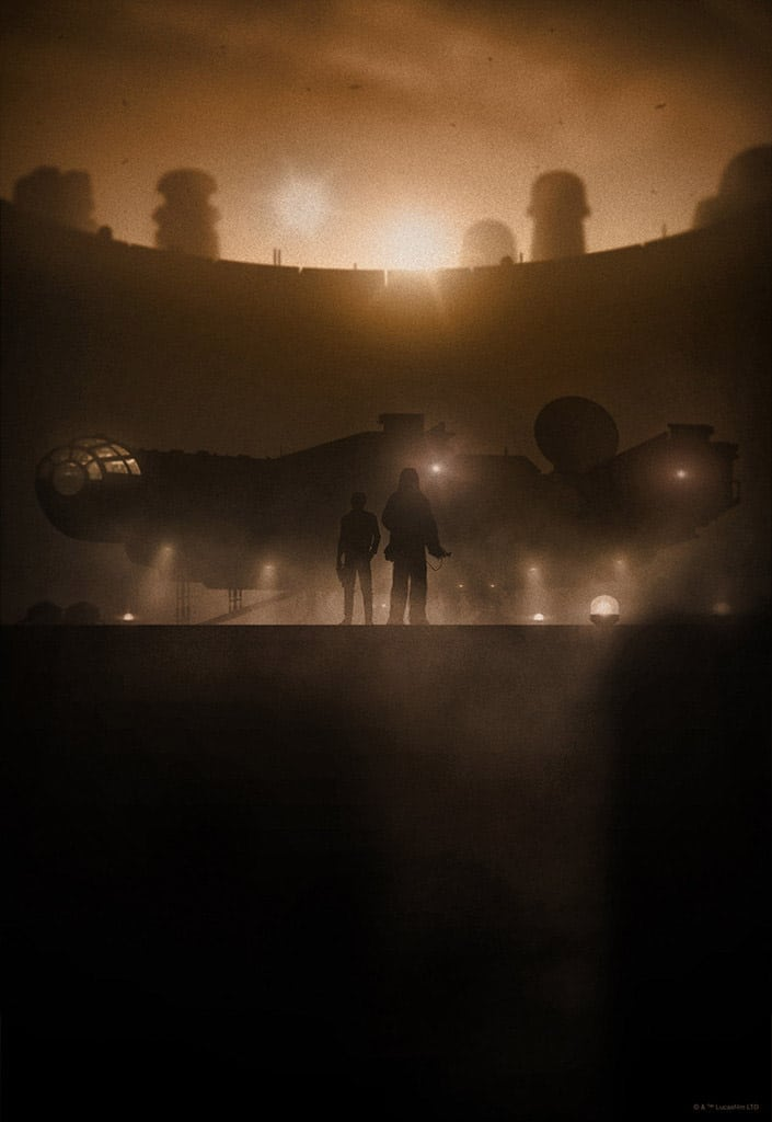Smugglers Star Wars Print
