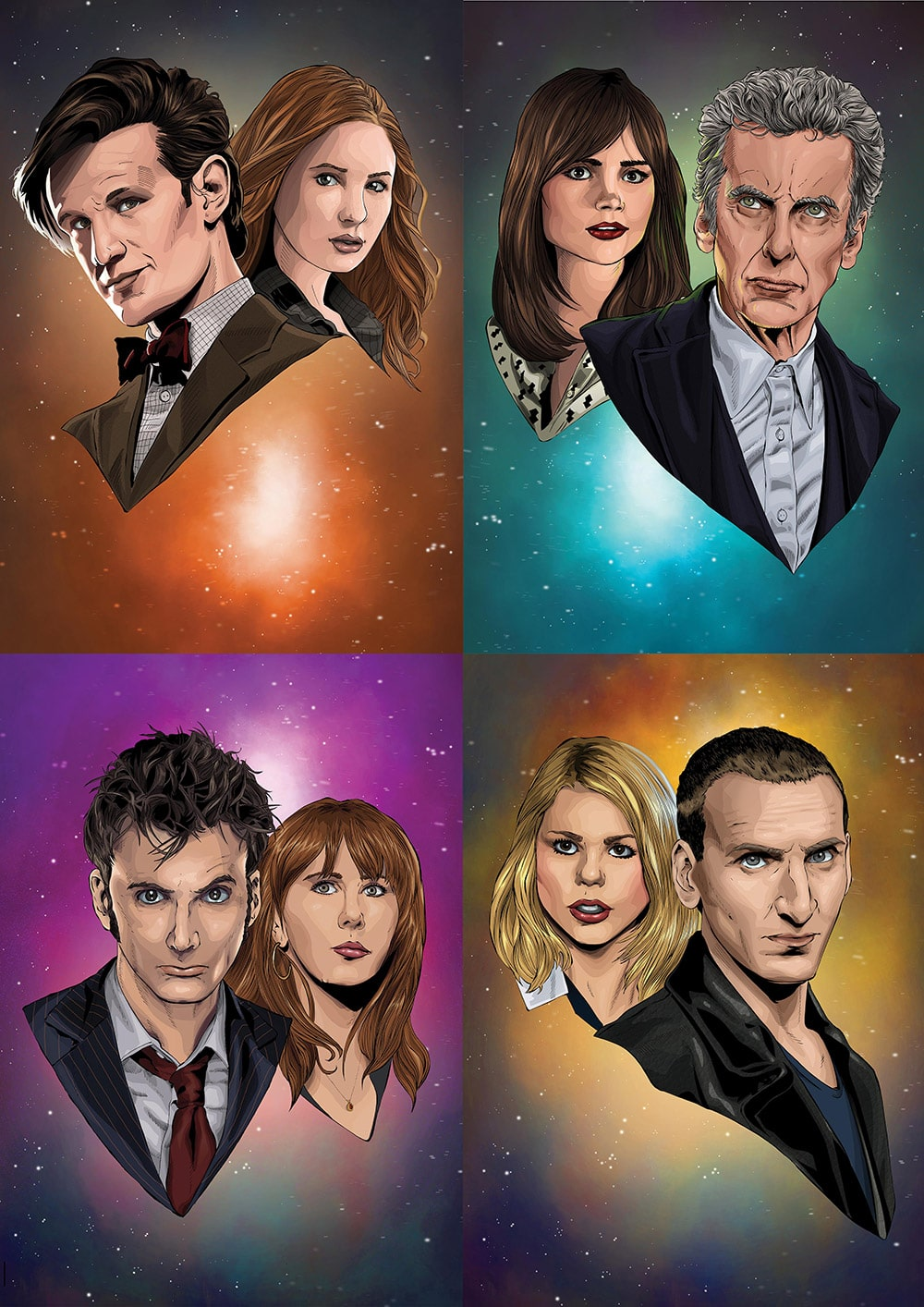 Dr Who Print Set