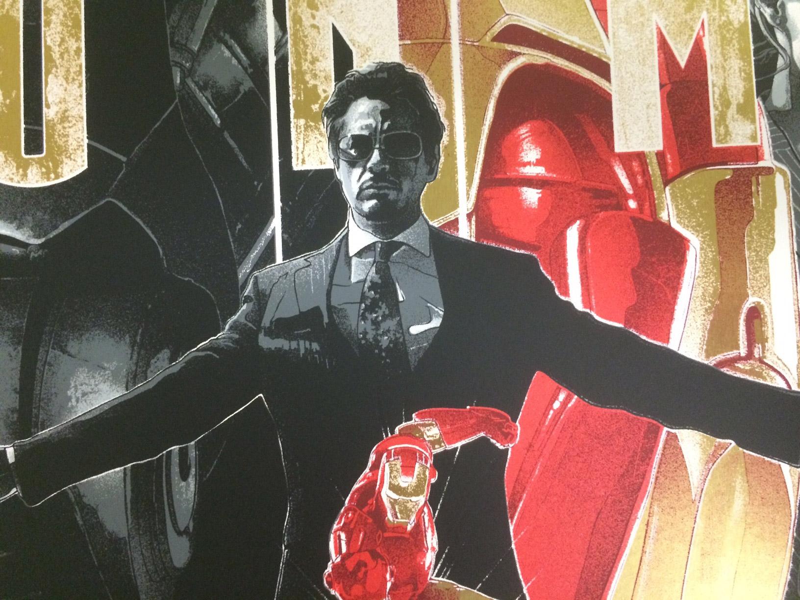 Iron Man Poster Detail 2