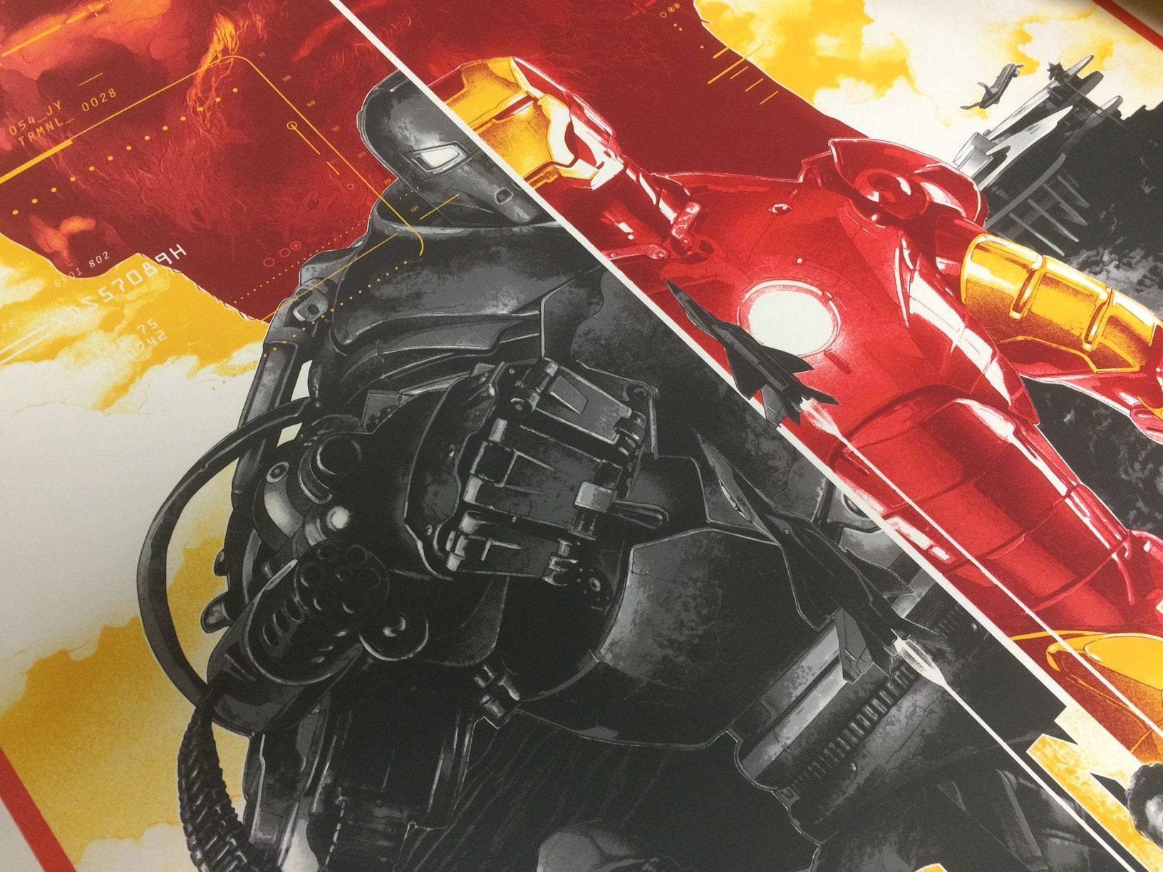 Iron Man Poster Detail 1
