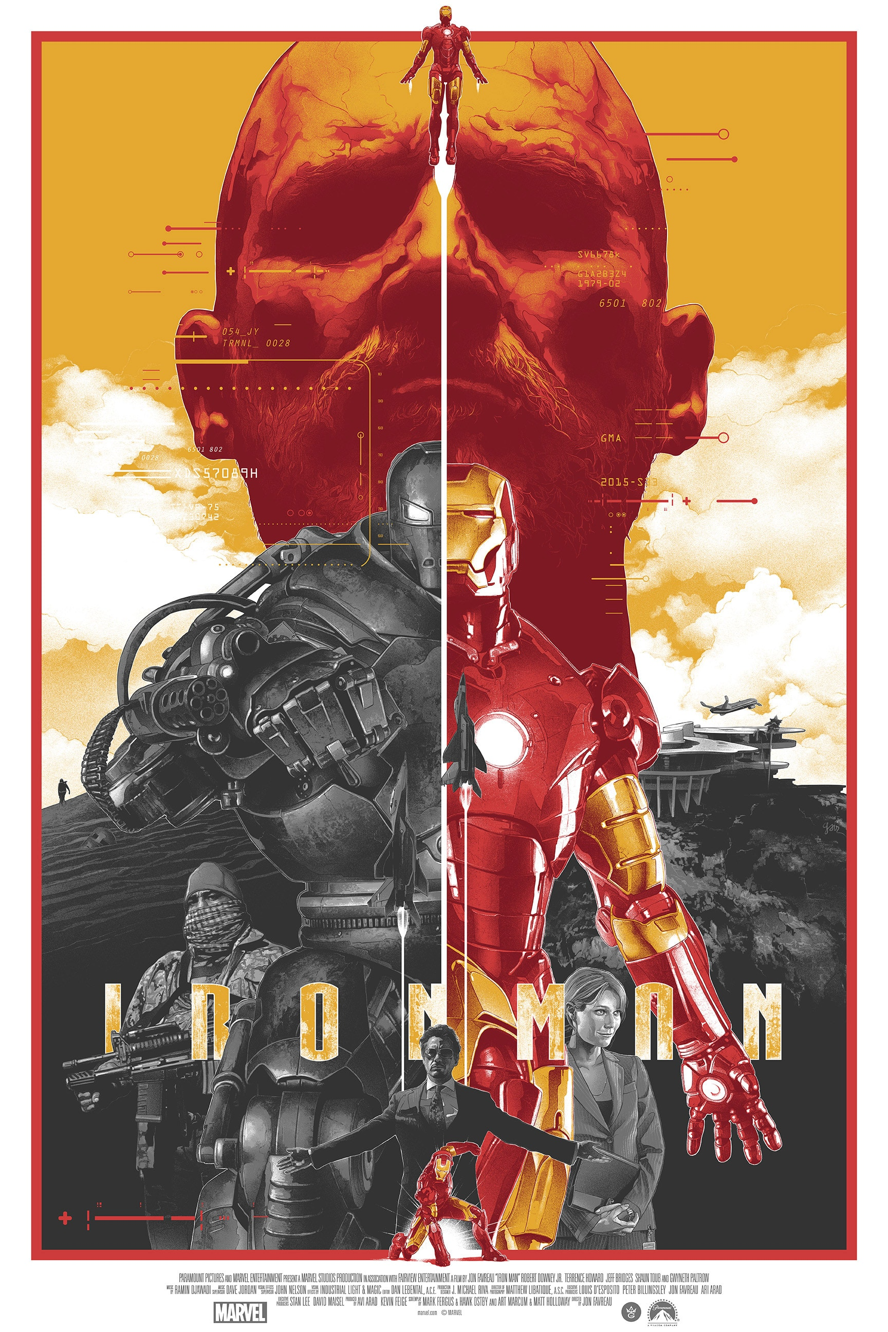 Iron Man Poster by Gabz