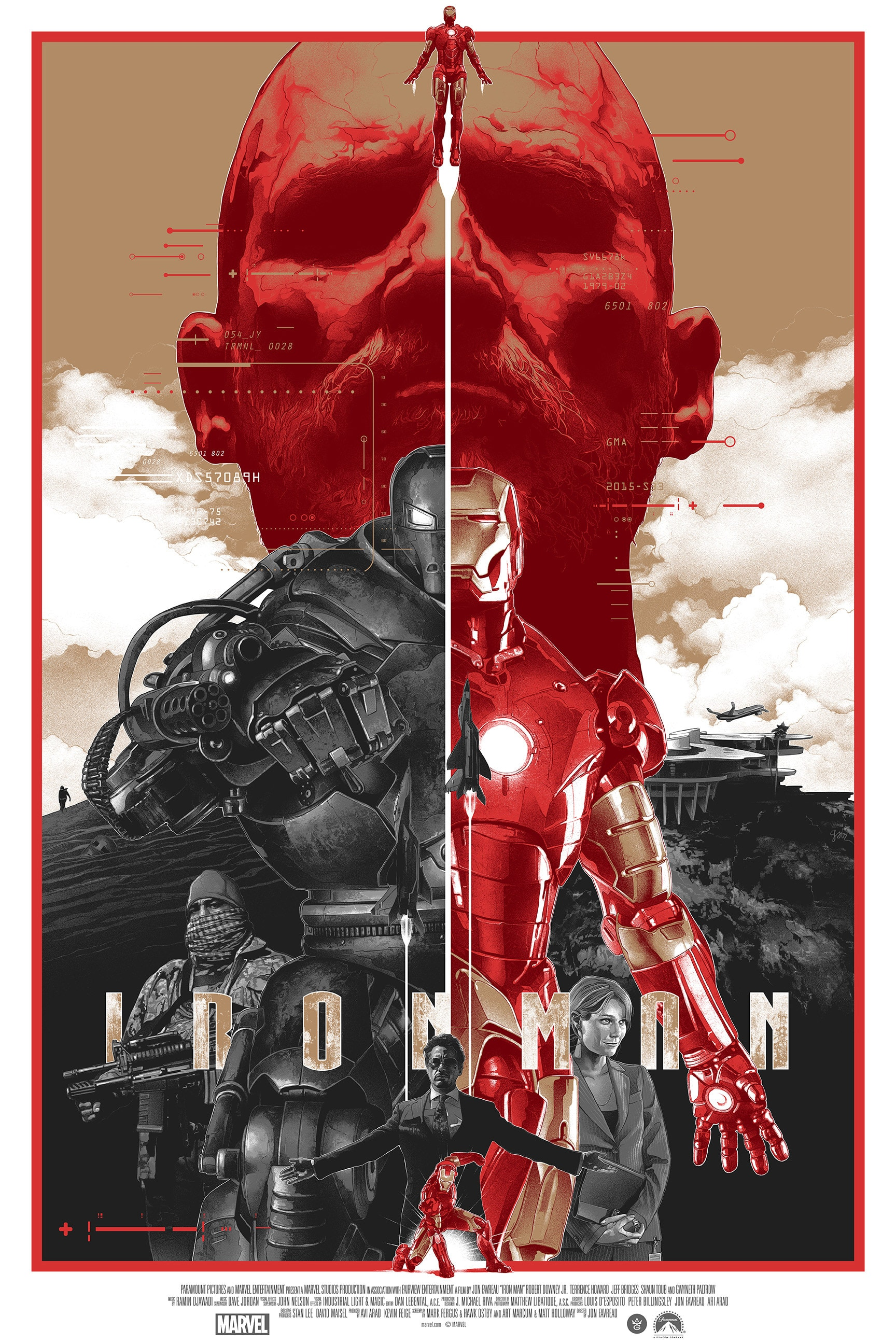 Iron Man Variant Poster by Gabz