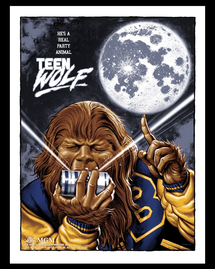 Teen Wolf Poster from Jason Edmiston