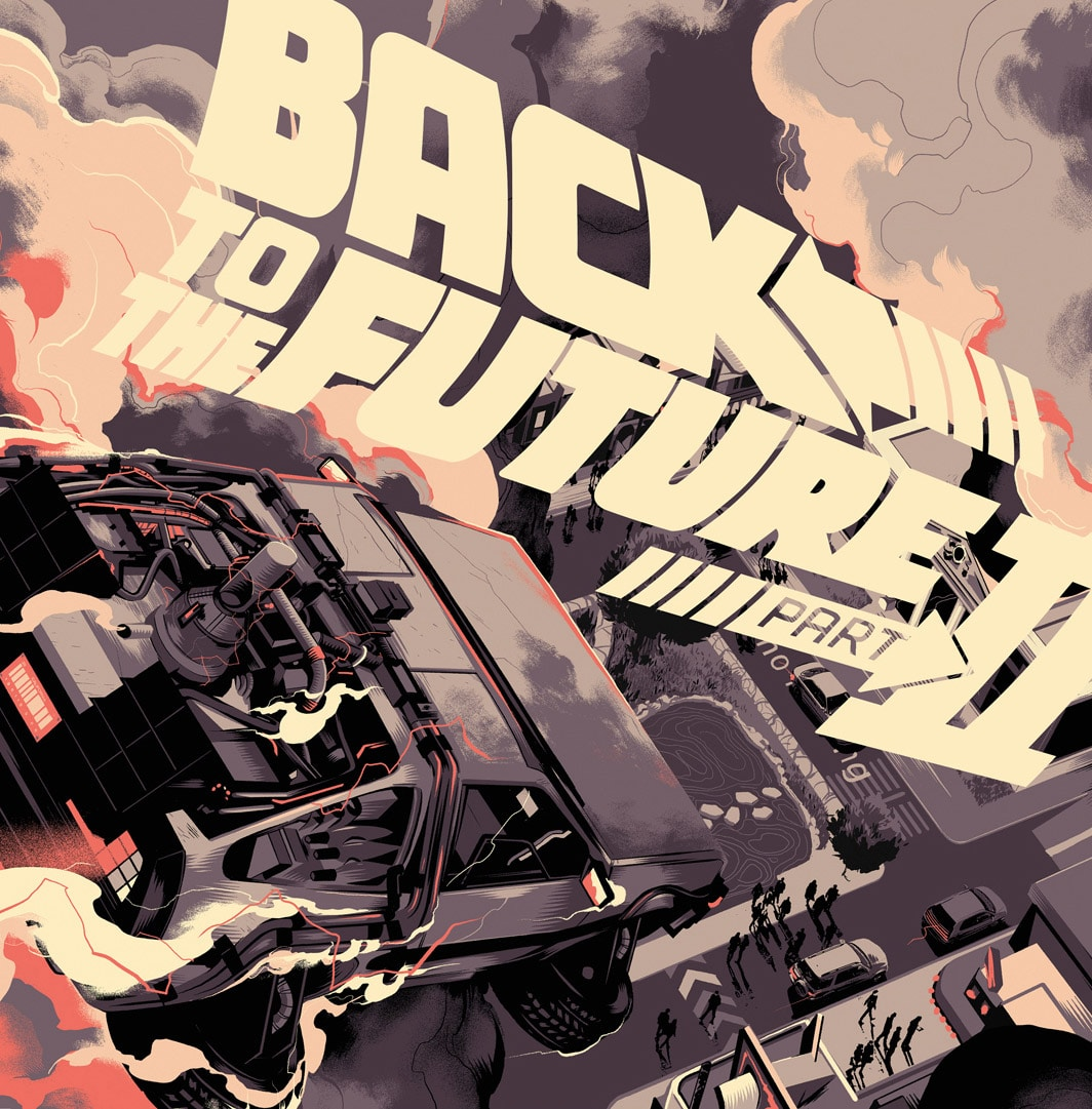 Back to the Future 2 Soundtrack Record Cover by Taylor