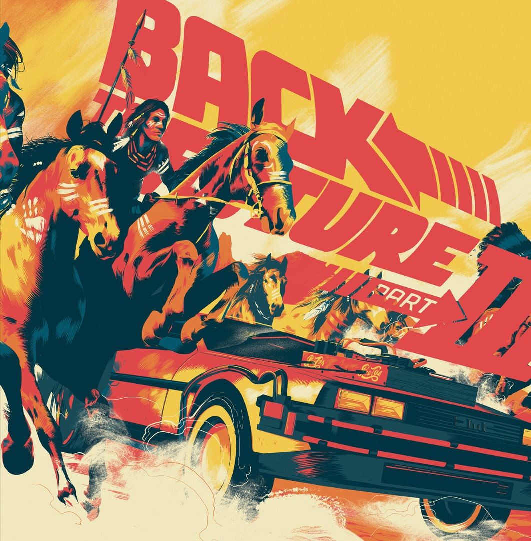 Back to the Future 3 Soundtrack Record Cover by Taylor