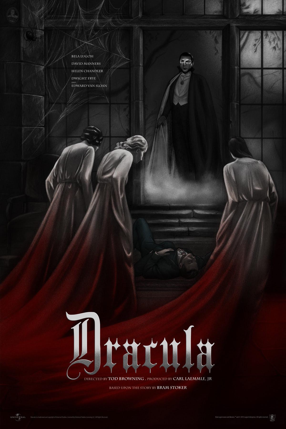 Dracula Poster Variant