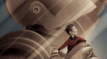Brad Bird Iron Giant Signature Edition Print from DHM