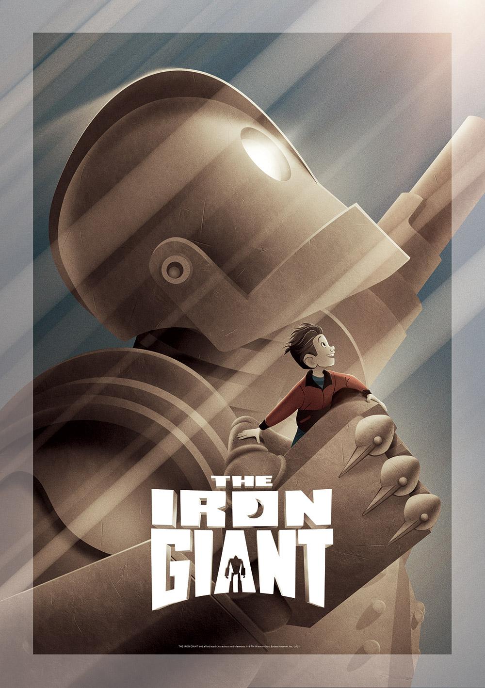 Brad Bird Iron Giant Signature Edition Print