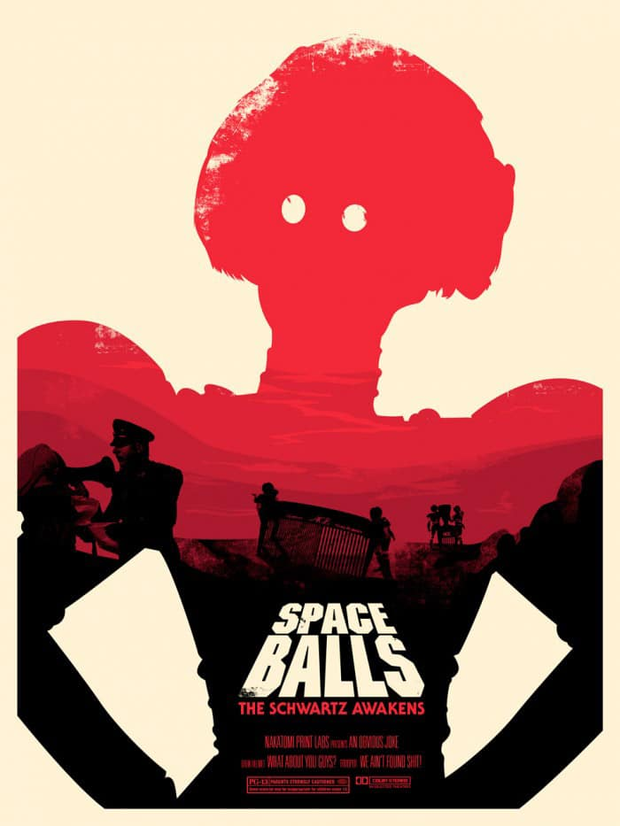 Space Balls Movie Poster 1 by Josh Budich