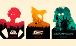 Space Balls Movie Poster Print Sets by Josh Budich