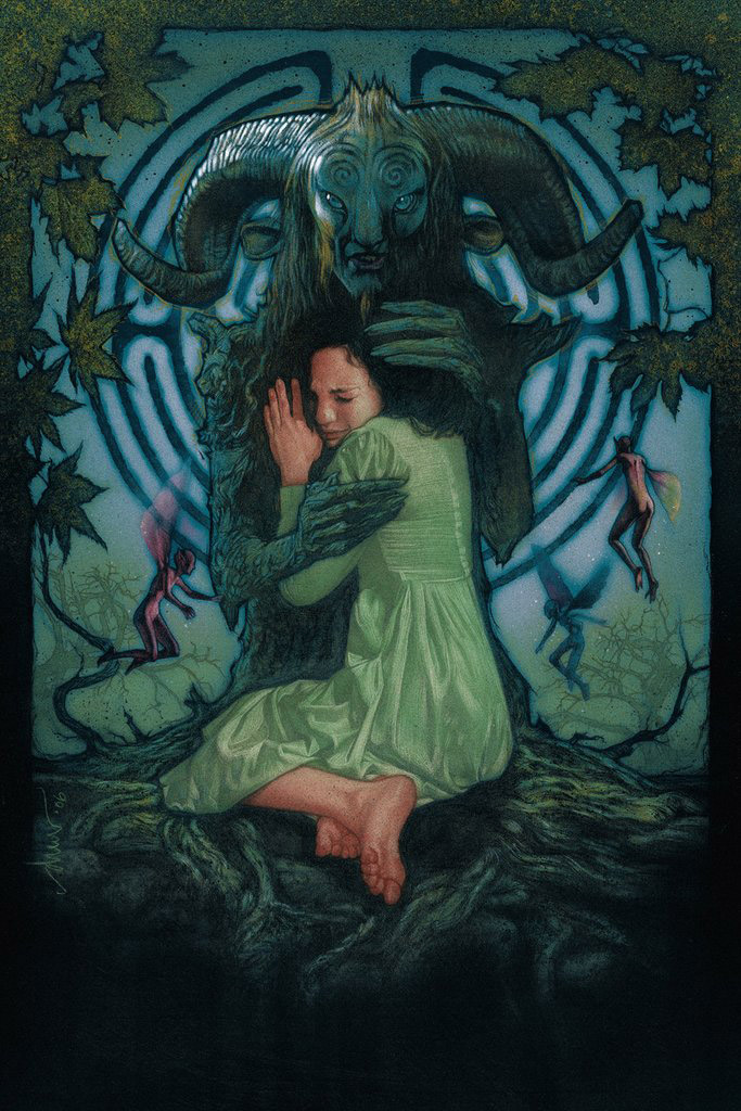 Pan's Labyrinth Art Print By Drew Struzan